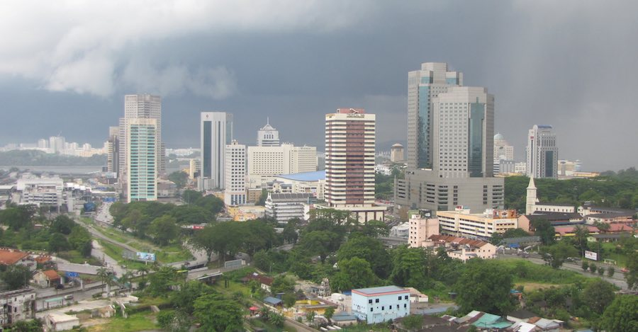 Johor Bahru central business district